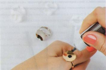 Кольца для клея.