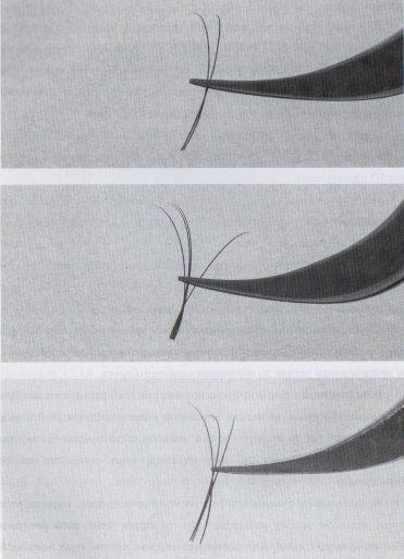 Как не должен выглядеть пучок в объёмном наращивании